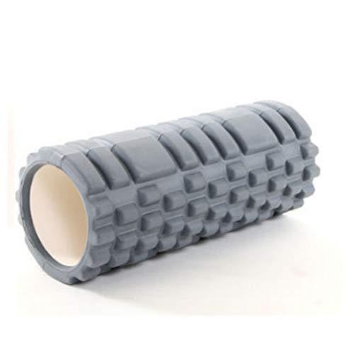 Chinashow Yoga Column Foam Shaft Hohl High Density Yoga Column Selbstmassage-Tool für Fitnessstudio Ideal für Pilates-Übungsroller, Grau