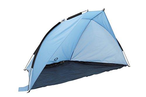 Grand Canyon Malibu - Strandmuschel, UV40-Schutz, Sonnen- und Windschutz, blau/schwarz, 302207