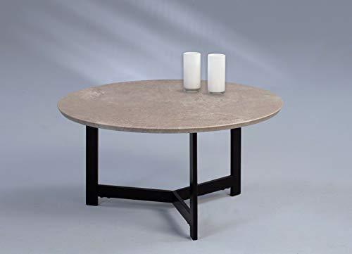 FidgetGear Couchtisch Beistelltisch - Lars 1-70x70 cm Dekor Betonoptik Show One Size