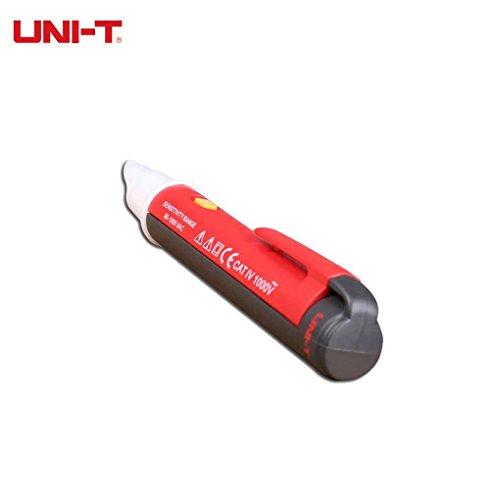 UNI-T UT12C Spannung Pen Tester Berührungslose AC Spannungsprüfer 90V-1000V 50 / 60Hz Auto Power Off Beeper-Anzeige Power-ac-powered Sensor