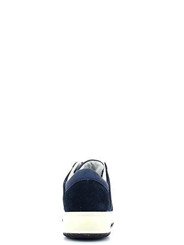 Holzfällers, 3601M05Schuhe mit Schnürsenkel Kid Blau - marineblau