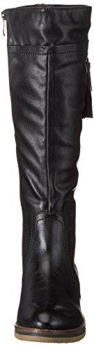 Marco Tozzi 25603, Bottes Classiques Femme Noir (BLACK ANTIC 002)
