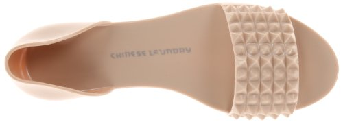 Chinese Laundry Rocking Synthétique Chaussure Plate Nude