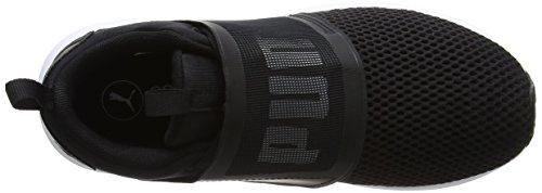 Puma Damen Enzo Strap Outdoor Fitnessschuhe Schwarz (Black-White)
