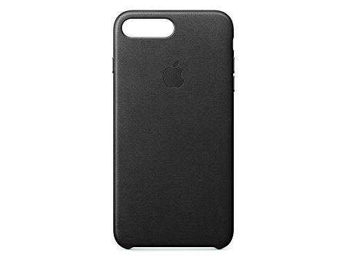 Apple MMYJ2ZM/A iPhone 7 Plus Leather Hülle schwarz