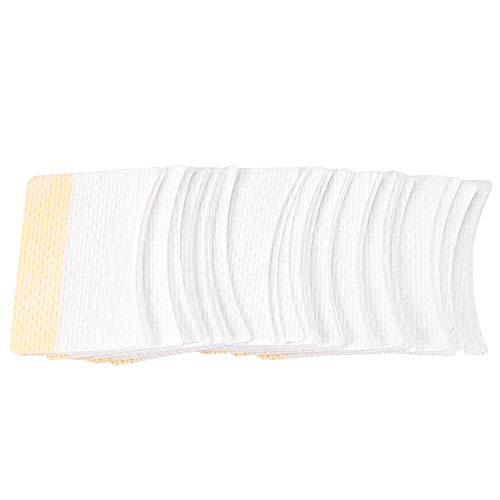 Nosii 40 stücke Baumwolle Einweg Wimpernverlängerung Patch Aufkleber Schild Unter Pad Make-Up-Tool (Augenrötung)