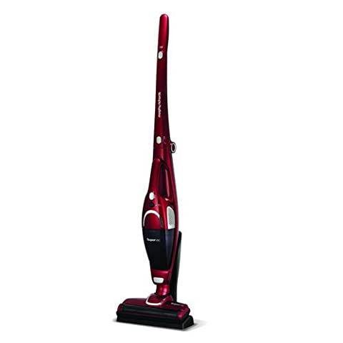 Morphy Richards 732005 2-in-1 Supervac Cordless Vacuum Cleaner, 18 V - Red by Morphy Richards