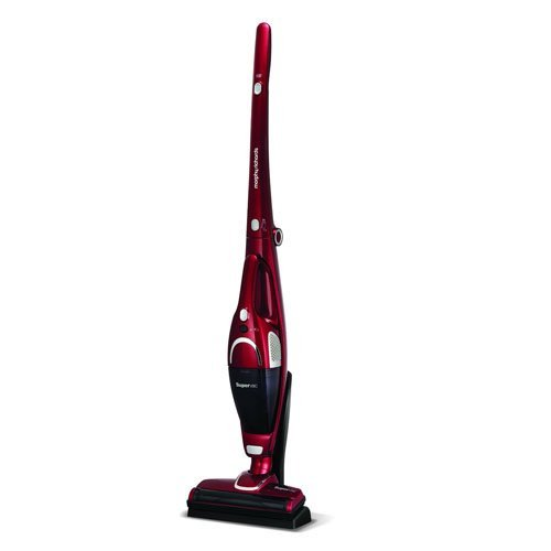 31b2MNm0C%2BL. SS500  - Morphy Richards 732005 Cordless Vacuum Cleaner 35 Mins Runtime, Plastic, 100 W, Red