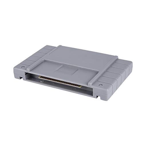 Preisvergleich Produktbild Redstrong Vintage 16-Bit-Flash-Spiel-Laufwerk Flash-Cartridge TV-Video-Spiele-Konsole Game Card Plug & Play für SUPER Mario World