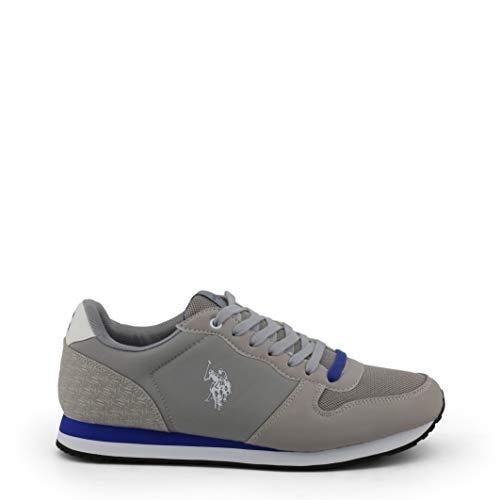 U.S. Polo Assn. 4087S9/HN1 Herren Sneakers Grau, EU 43 (Us Polo Damen Sneaker)