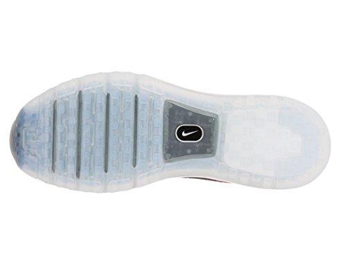Nike Flyknit Max, Chaussures de Running Entrainement Homme Bleu - Azul (Azul (Photo Blue/Blk-Cncrd-Ttl Crmsn))