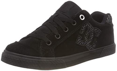 DC Shoes Chelsea Se, Zapatillas de Skateboard para Mujer, Negro Silver/Black 0sb, 37 EU