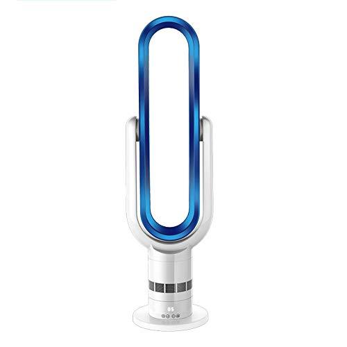 ZR- Ventilatore senza pale, elettroventilatore domestico Ventilatore da tavolo con telecomando per il controllo remoto del ventilatore Ventilatore verticale a risparmio energetico