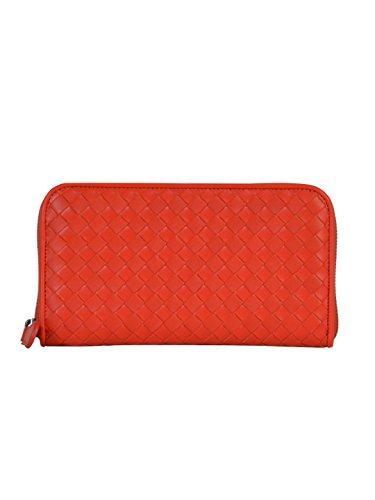 bottega-veneta-femme-114076v001n6506-rouge-cuir-portefeuille