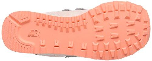 New Balance Damen 574 Textile Sneakers Pink (Salmon)