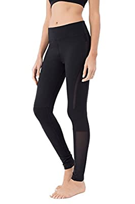 Queenie Ke Women Power Stretch Plus Size High Waist Yoga Pants Running Tights