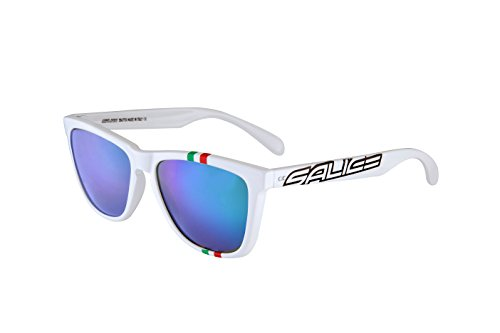 SALICE 3047ITA, occhiale Sportivo Unisex – Adulto, Bianco, Medium