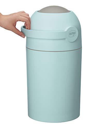 Chicco - Cubo para pañales, sistema antiolores, bolsas convencionales, color azul turquesa turquesa