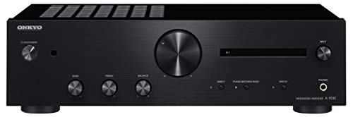 ONKYO A-9130 amplificatore audio Casa Nero