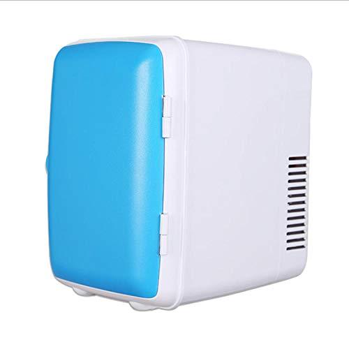 Mini refrigerator car electronic hot and cold box 4L car refrigerator home single door small refrigerator - blue high 245 * wide 180 * deep 230mm - Wide-hot-plug