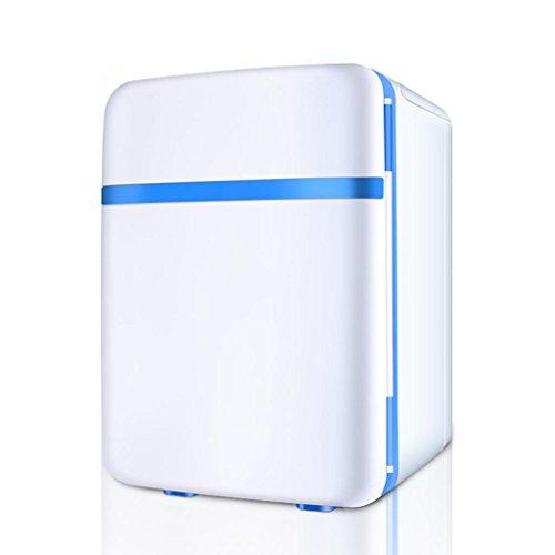 DZW 10L Kühlung Auto Kühlschrank Outdoor Reisen Mini Kühlschrank Kleine Kühlung Box Home Auto Kalt und Warm Mobicool Electric Coolbox 3 Farben zur Verfügung 26 * 24 * 35cm Leistung 45W , days blue (10 Liter Trinken Kühler)