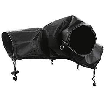 s Nylon, wasserdicht, Regenschutz für Canon, Nikon, Pentax und andere Digitale Spiegelreflexkameras (schwarz) ()