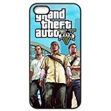Gta Für Handy (Grand Theft Auto T6X0If iPhone 5 5S 5SE Handy-Fall Hülle Schwarz I1O6YP Generika-Telefon-Kasten Hülle Mode)