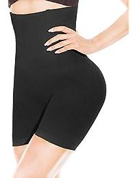 HONFAY Mujer Fajas Reductoras Body Shaper Bragas Cintura Alta Corsé Adelgazantes de Invisible Cinturón Formación Ropa Interior Pantalones Cortos