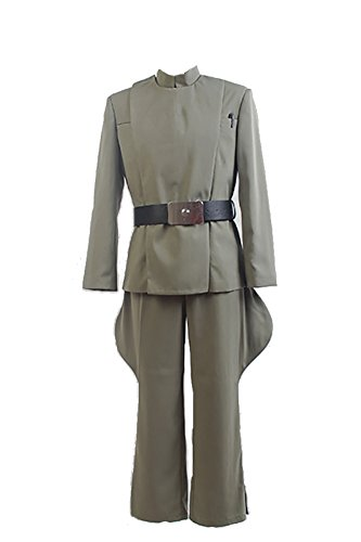 Fuman Star Wars Imperial Officer Olive Green Karneval Cosplay Kostüm (Olive Kostüm Green)