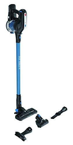 Hoover H-FREE 200 HF222UPT- Aspiradora escoba sin cable,ciclónica,especial mascotas, ion litio 22V,autonomía 40mins, 0,7L, cepillo motorizado LED, accesorio pelo mascota, tapicería y rincones