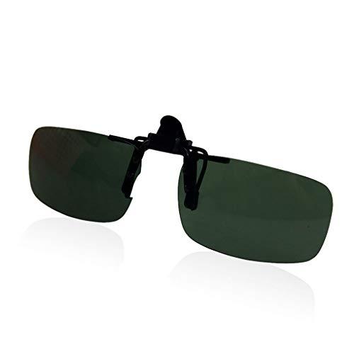Provide The Best Frauen Männer Clip-On-Brille Flip-Up-Objektiv fährt Sonnenbrille Brille