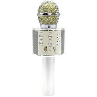 Luoartsu Accessori per Microfono Tonor ws-858 Microfono Wireless Karaoke Altoparlante Portatile Bluetooth Batteria Integrata 1800 mAh for Karaoke Compatibile con PC/iPad/iPhone/Tre Colori