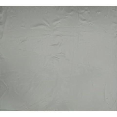 Faux satén de seda Tela Blanco de costura sólidos brillantes de corte y confección con tejidos de la