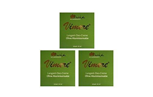 Deodorant Stick Vitamin (Vimere Deo Creme 3x30 ml)