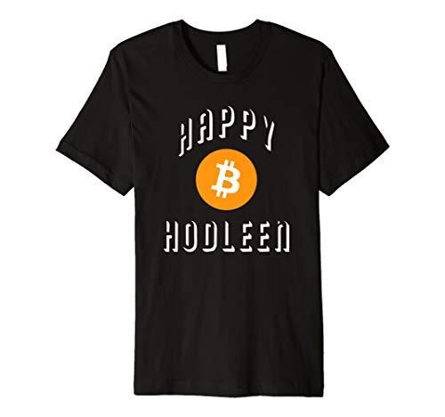 Happy hodleen hodl Bitcoin Halloween-Kostüm T-Shirt Funny