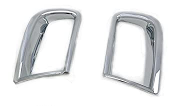 Abs Chrome Rear Tail Fog Light Lamp Covers Trim For Car Accessory Tyf5 0