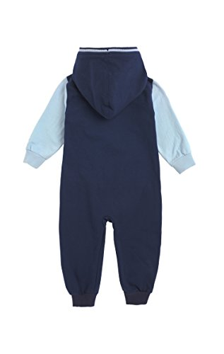 Onepiece Unisex Baby Strampler Jumpsuit College, Mehrfarbig (Midnight Blue/Light Blue),  Gr. 1-1,5 Jahre( 12-18 Monate) - 2