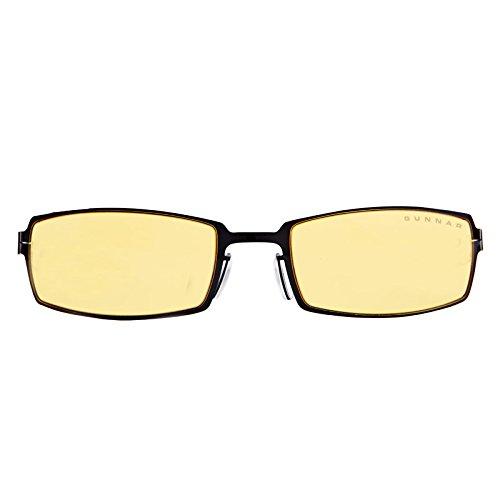 Gunnar PPK Z Gloss Onyx Sonnenbrille, Nicht reflektierend, Schwarz