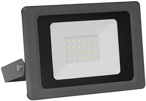 CristalRecord 77-400-20-181 Proyector LED Extraplano para Exterior R7s, 20 W, 20w, 16.5...