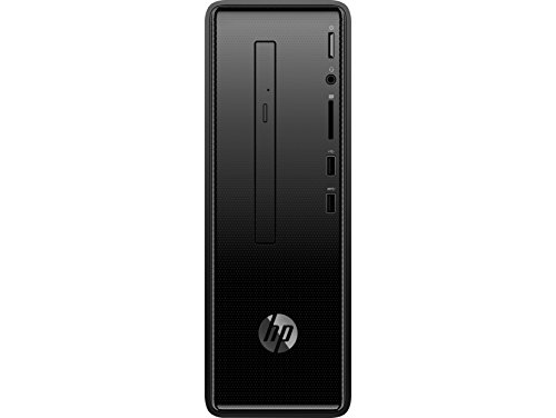 Price comparison product image PC HP SLIMLINE 290-P0001NS - I3-8100 3.6GHZ - 8GB - 1TB - DVD RW - VGA - HDMI - LAN GIGABIT - WIFI BGN / AC - BT - TEC+RATÓN - W10 - NEGRO AZABACHE