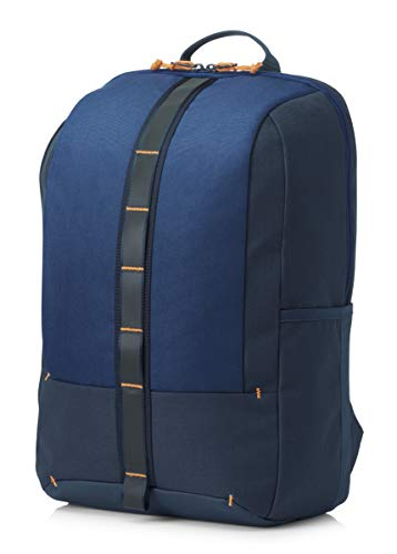 HP Commuter - Mochila para portátiles y netbooks (Monótono, Unisex, 15.6'), Azul