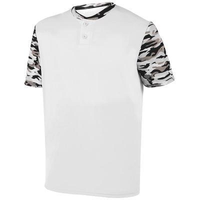 Augusta Sportswear Boys Pop Fly Jersey M White/Black Mod (T-shirt Jersey Augusta)