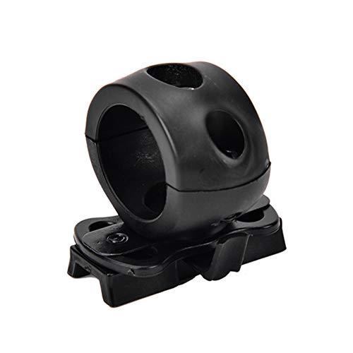 """Modaka Tactical Mount Accessori per Elmetto Tattico in Plastica 1 """"Tactical Airsoft Supporto per Torcia per Attacco Rapido per Sgancio Rapido Torcia Clip per Attacco Rapido per Elmetto"""