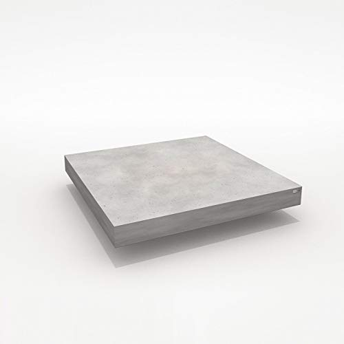 CO33 Loungetisch aus Beton mit fahrbarem Gestell Tabula Altus