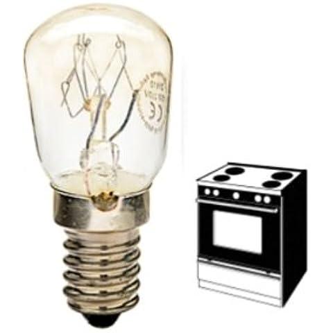 LAMPADA PER FORNO PICCOLA PERA PERETTA E14 15W 300° 100 lumen - Forno Pera