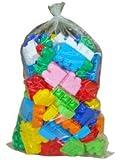 Wader Builder Construction Jumbo Brick Toy Set (126 Pieces)