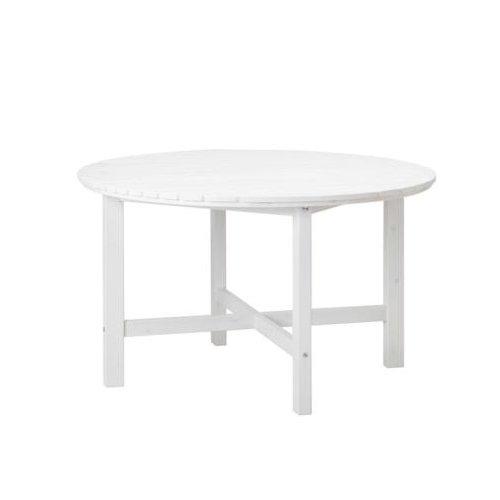 IKEA runder Holz-Gartentisch