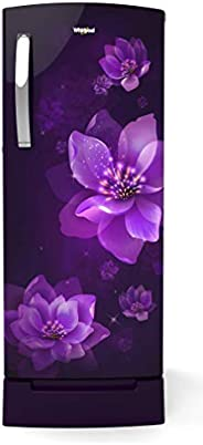 Whirlpool 200 L 3 Star Direct-Cool Single Door Refrigerator (215 IMPRO ROY 3S PURPLE MULIA, Purple Mulia)