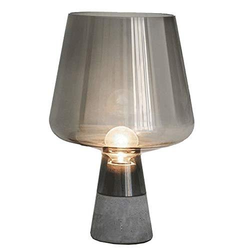 YWY Lámpara De Mesa De Cristal Nórdico Creativo Moderno Lámpara De ...
