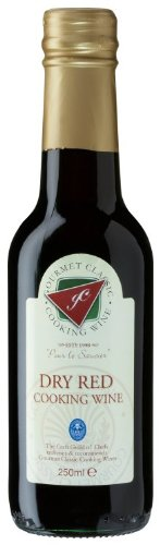 Gourmet Classic Red No Alcohol Cooking Wine 250 ml (Pack of 6) Test